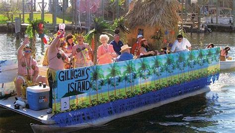 Gilligan S Island Boat by Cruising To Carnival Boatus Magazine