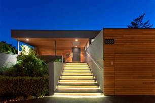 haus treppen aussen 25 ideen für treppenbeleuchtung außen