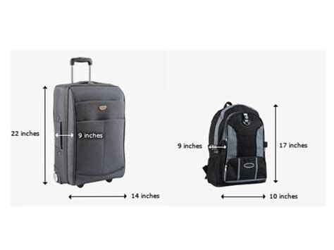 aircraft cabin luggage size carry on size luggage dimensions changing airline carry