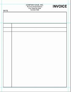 Simple invoice template pdf invoice sample template for Free invoice template simple blank invoice