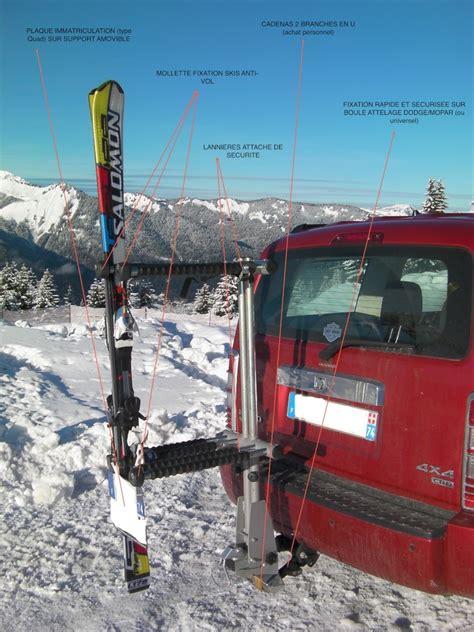 attelage porte v 233 lo benne a ski