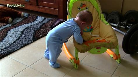 newborn to 6 month baby crawling and standing amazing