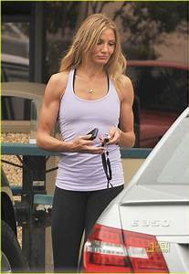 Full Sized Photo of cameron diaz alex rodriguez workout 04