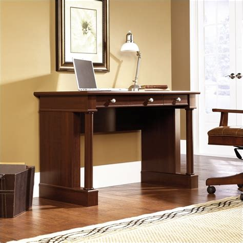 Sauder Palladia Computer Desk Finishes by Sauder Palladia Select Cherry Finish Writing Desk Ebay