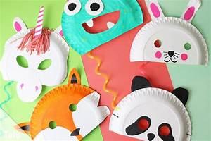 Basteln Mit Fotos : faschingsmasken basteln anleitung kindermasken aus ~ Lizthompson.info Haus und Dekorationen