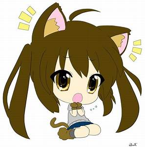 Pix For > Cute Anime Cat Chibi | Chibi girl | Pinterest ...
