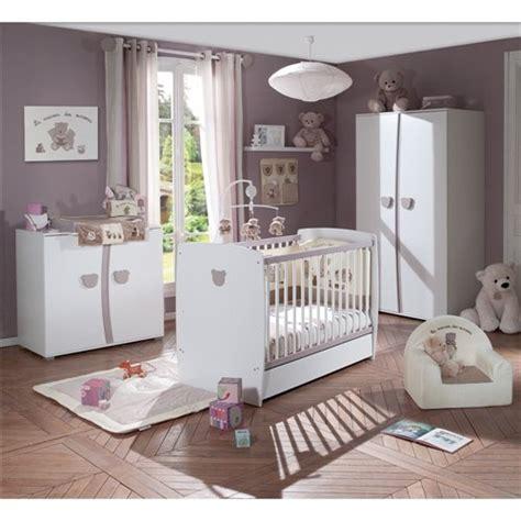 chambre teddy de la sélection sauthon chambre baby