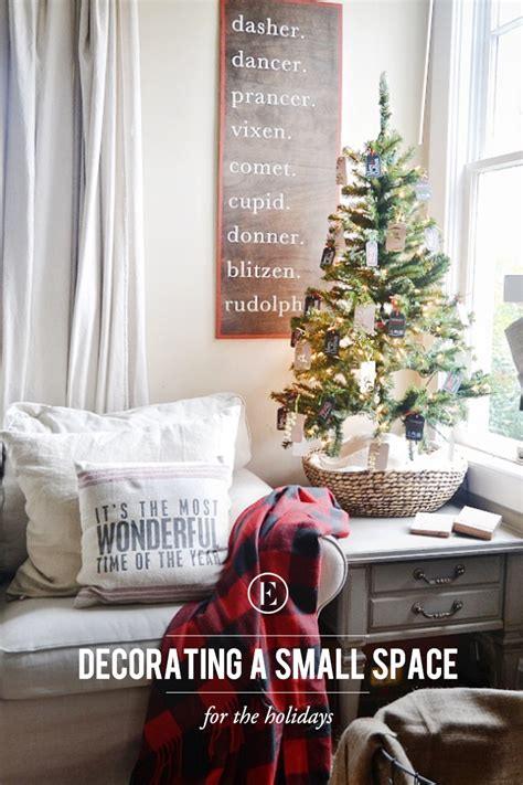 tips  decorating  small space   holidays