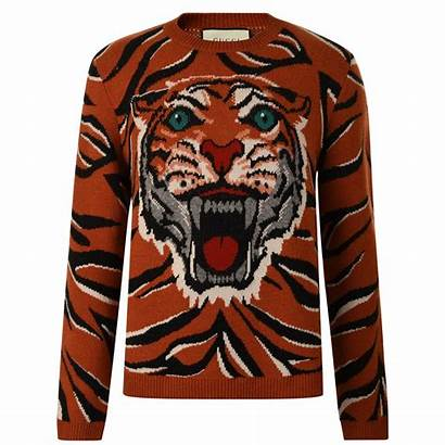 Gucci Jumper Tiger Knitted Flannels
