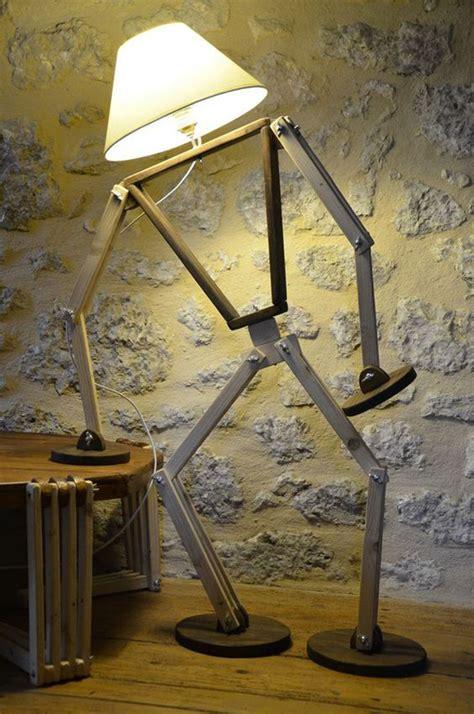 creative diy art stickman lamps  unique shape
