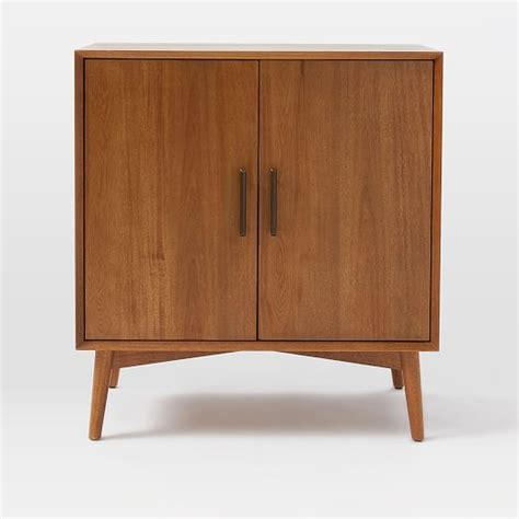 mid century cabinet mid century bar cabinet small west elm