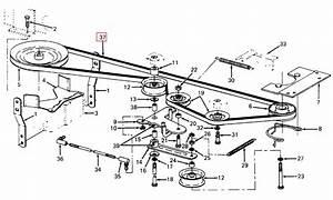 30 Cub Cadet Mower Belt Diagram