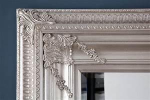 Wandspiegel Silber Antik : design wandspiegel barocco xxl silber antik 210cm dunord online ~ Watch28wear.com Haus und Dekorationen