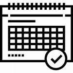 Weekly Calendar Icon Icons