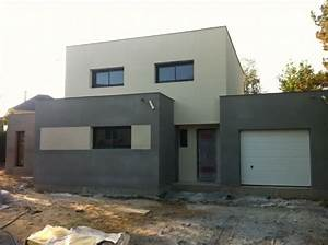 couleur enduit facade maison moderne recherche google With facade de maison moderne