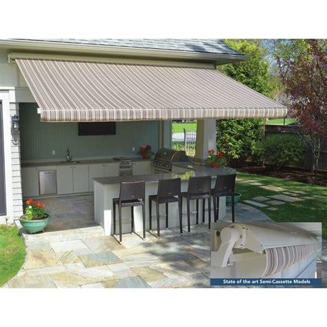 sunsetter motorproxlsc sunbrella retractable standard patio awning wayfair
