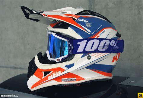 ktm motocross helmets ktm airoh aviator helmet 2014 100 goggles derestricted