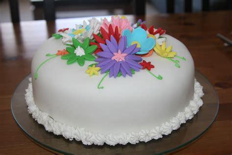 flower birthday cake for the of cooking flower birthday cake
