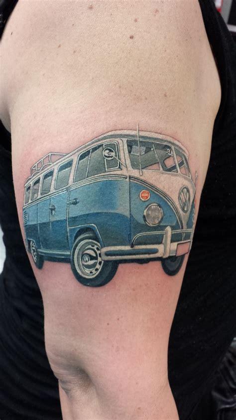 volkswagen bus tattoo 16 best bus tattoo s images on pinterest vw tattoo vw
