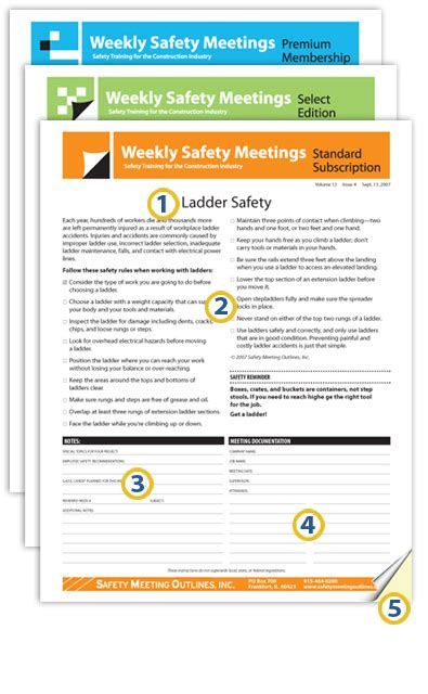images  weekly toolbox talks template canbumnet
