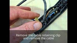 How To Replace The Mains Lead  Cable On A Sebo X4 Vacuum