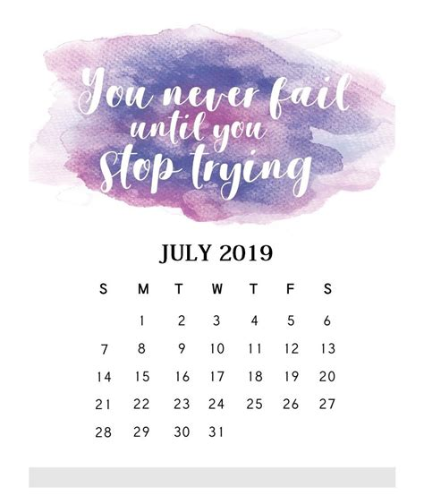 motivational quotes july  calendar calendar quotes