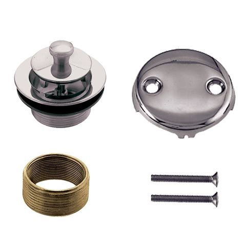 bathtub trim kit foret universal twist and tub waste trim kit