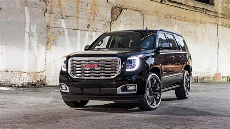 2018 Gmc Yukon Denali Ultimate Black 2 Wallpaper