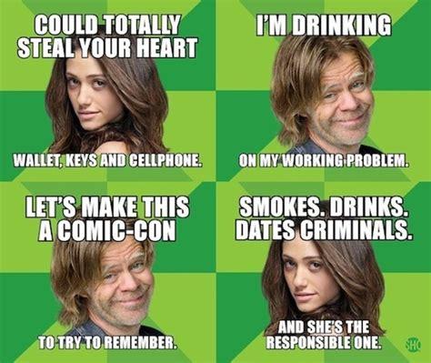 Shameless Memes - shameless showtime comic con memes zimbio
