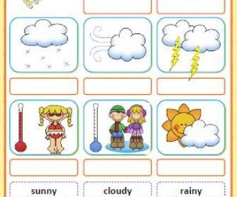 whats  weather  cut  paste activity