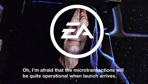 Ea Memes - ea games money grab star wars battlefront ii 5 poignant memes