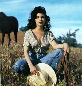Sherilyn Fenn portrays the character of Curley's wife in ...
