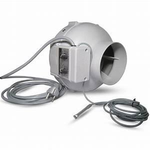 Extracteur D Air Hygroréglable : extracteur d 39 air prima klima 125mm 400m3 variateur et ~ Dailycaller-alerts.com Idées de Décoration