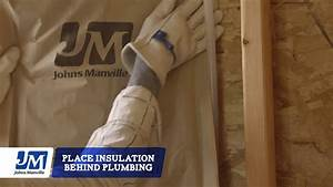 How to install insulation around recessed lighting and