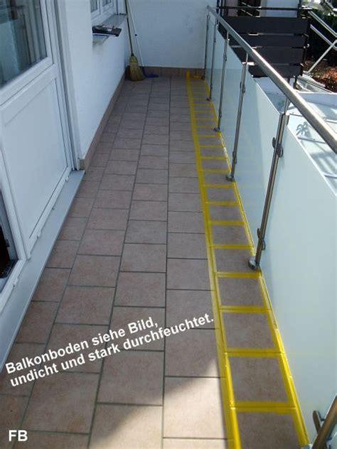 Balkonsanierung So Wird Der Freisitz Wie Neu by Balkon Sanieren Anleitung Affordable Abbildung Lchern