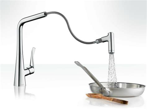 robinet de cuisine hansgrohe metris robinet de cuisine chrome by hansgrohe design