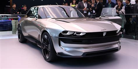 Peugeot Electric Car by A Closer Look At Peugeot S Stunning New E Legend Electric