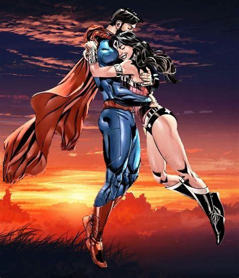 Superman And Wonder Woman By Mayantimegod On Deviantart