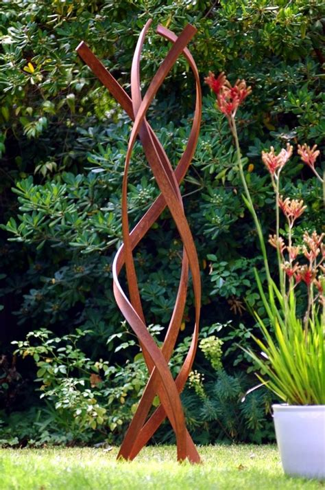 Used Garden Decoration by Metal Garden Decorations How Large Sculptures Effect Is