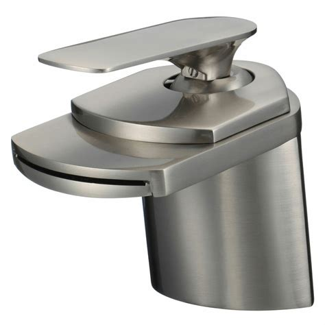 Contemporary Sink Faucets by Brushed Nickel Bathroom Sink Faucets Contemporary