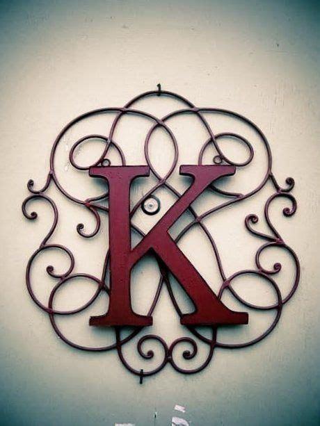 cute   combine  initials  wire decorations iron decor wrought iron decor