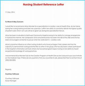 free sample professional letter of recommendation nursing reference recommendation letters 9 sample letters