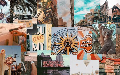 13 vintage macbook wallpaper aesthetic collage wallpaper