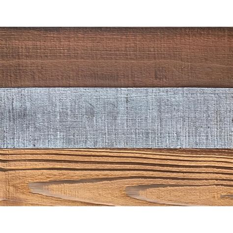 barn wood          decorative wall planks  mixed color sample