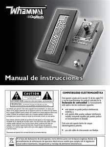 Whammy Manual 5004544