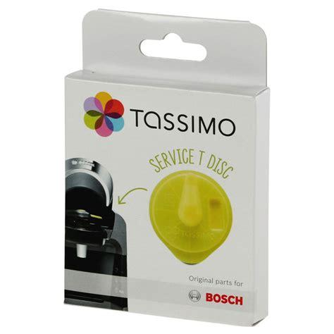 Accessoires Tassimo : T Disc Jaune Tassimo pour détartrage : Vivy, Amia, Suny, Fidélia   Coffee