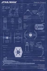 Star Wars   Print  Galactic Empire Fleet