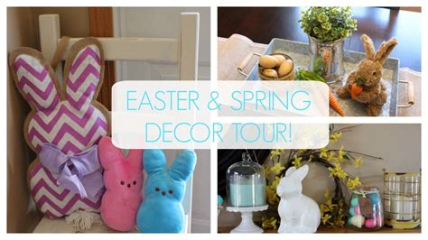Easter Home Decor Styling: EASTER & SPRING HOME DECOR TOUR!