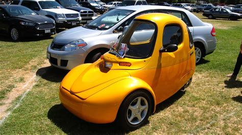 Reverse Trike Or Three Wheel Car... It's Electric! One