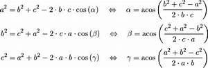 Cos Berechnen : trigonometrie grundwissen mathematik ~ Themetempest.com Abrechnung